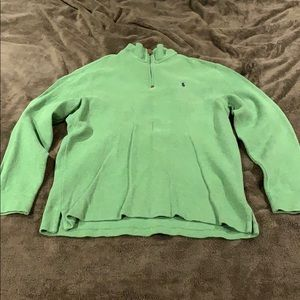 Polo by Ralph Lauren pull-over sweater with zipper